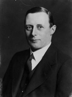 NPG x4655; Sir Archibald Douglas Cochrane by Walter Stoneman