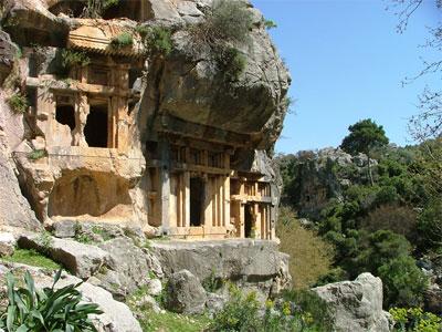 pinara-tomb-a