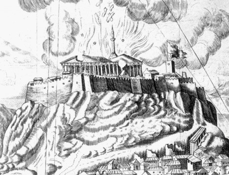 Destruction-of-the-Parthenon-1687.