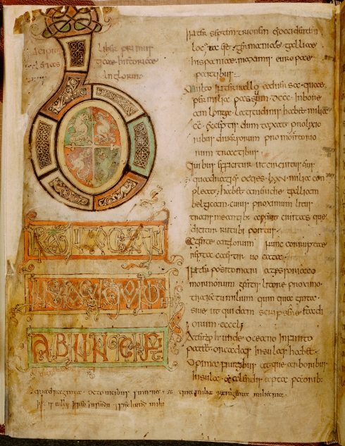 Cotton Tiberius C.II, f.5v